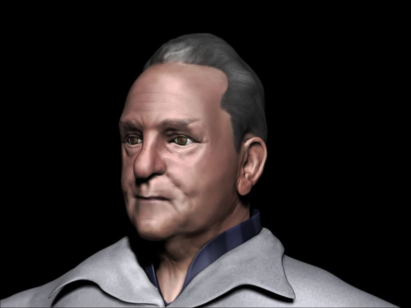 Modelado de mi padre en Zbrush 0
