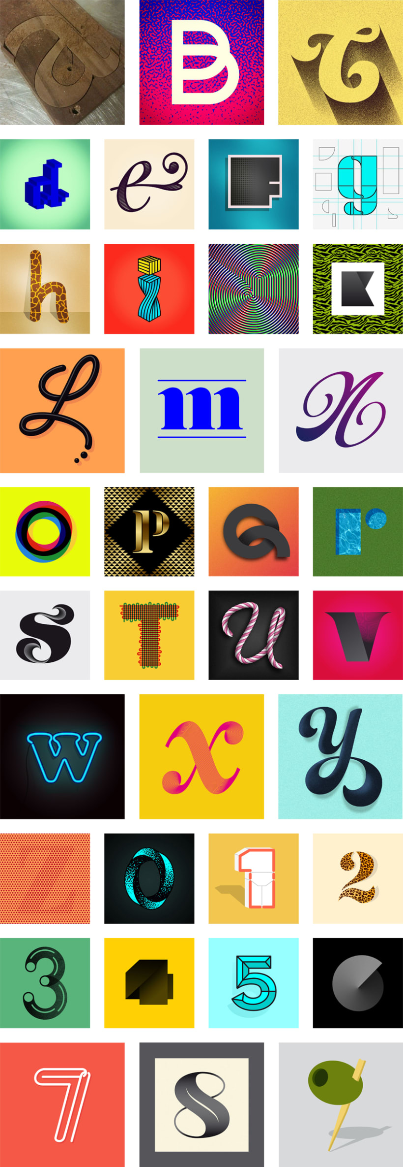36 days of type (2014) 0