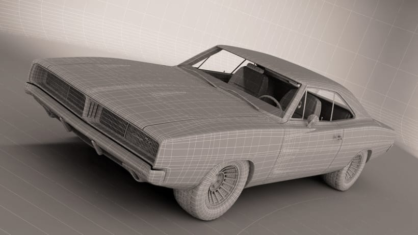 Dogde Charger 1969 0