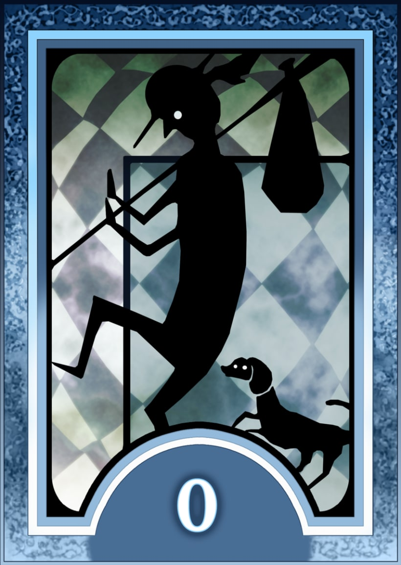 Major ARCANA Tarot 1