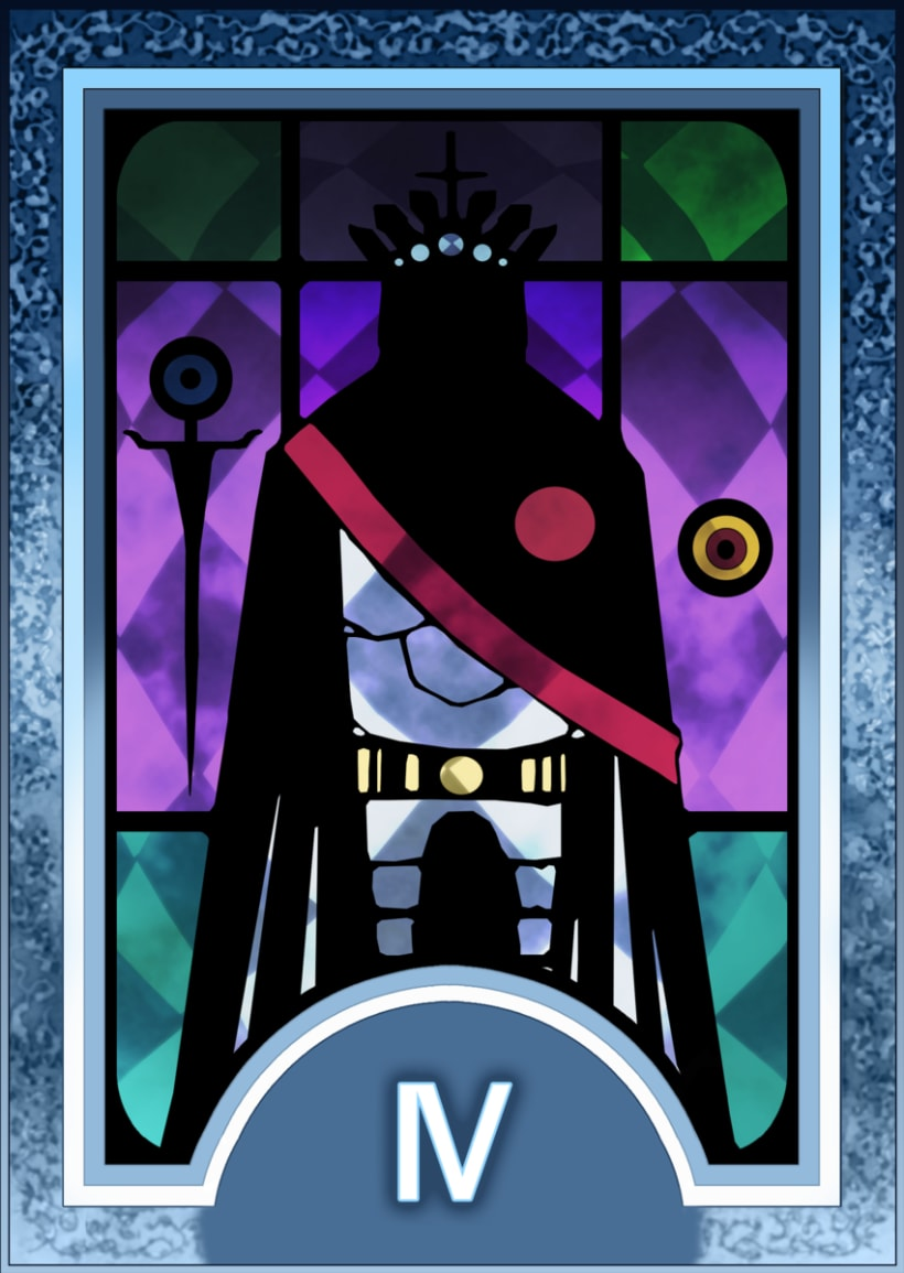 Major ARCANA Tarot 5