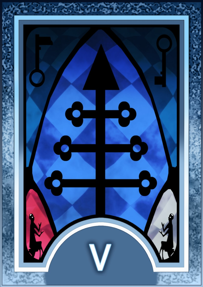 Major ARCANA Tarot 6