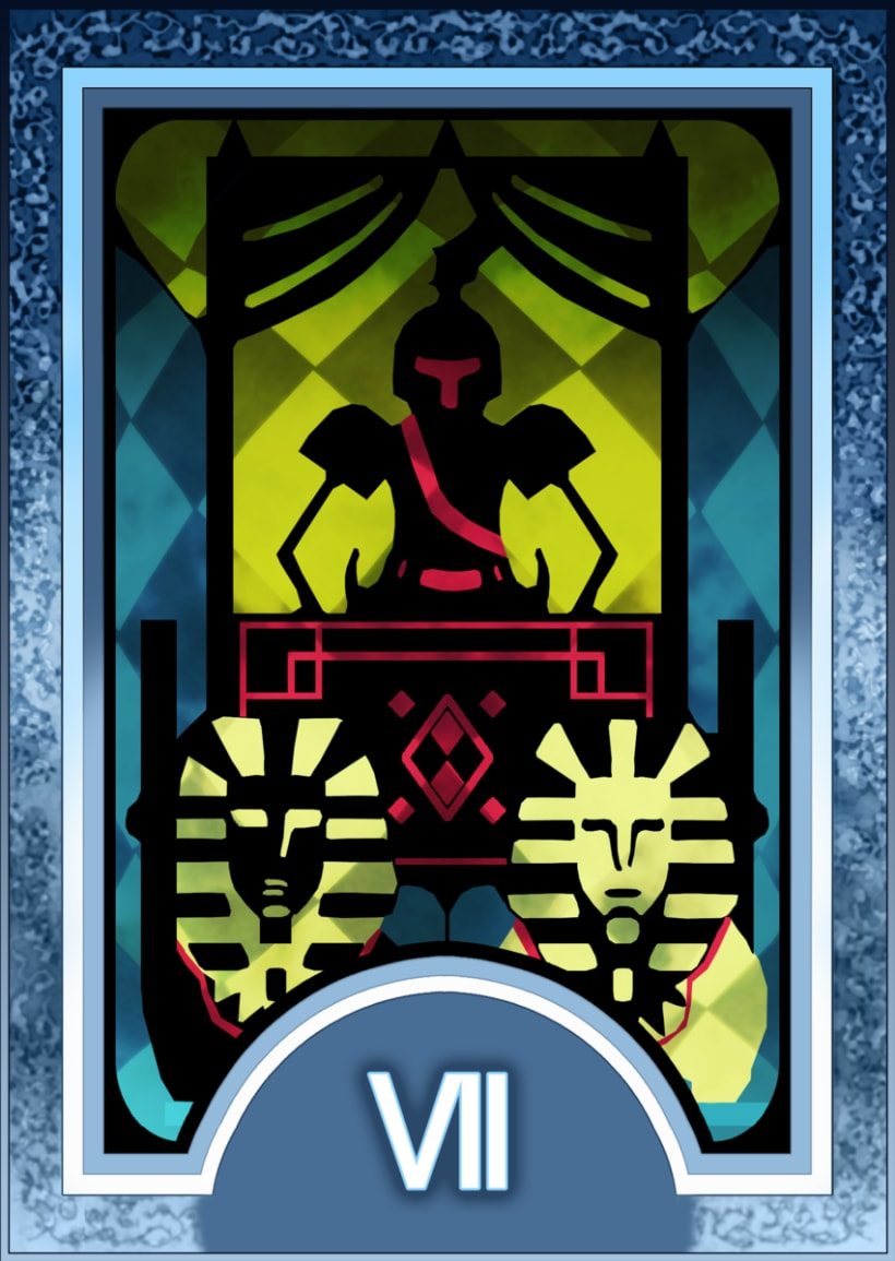 Major ARCANA Tarot 8