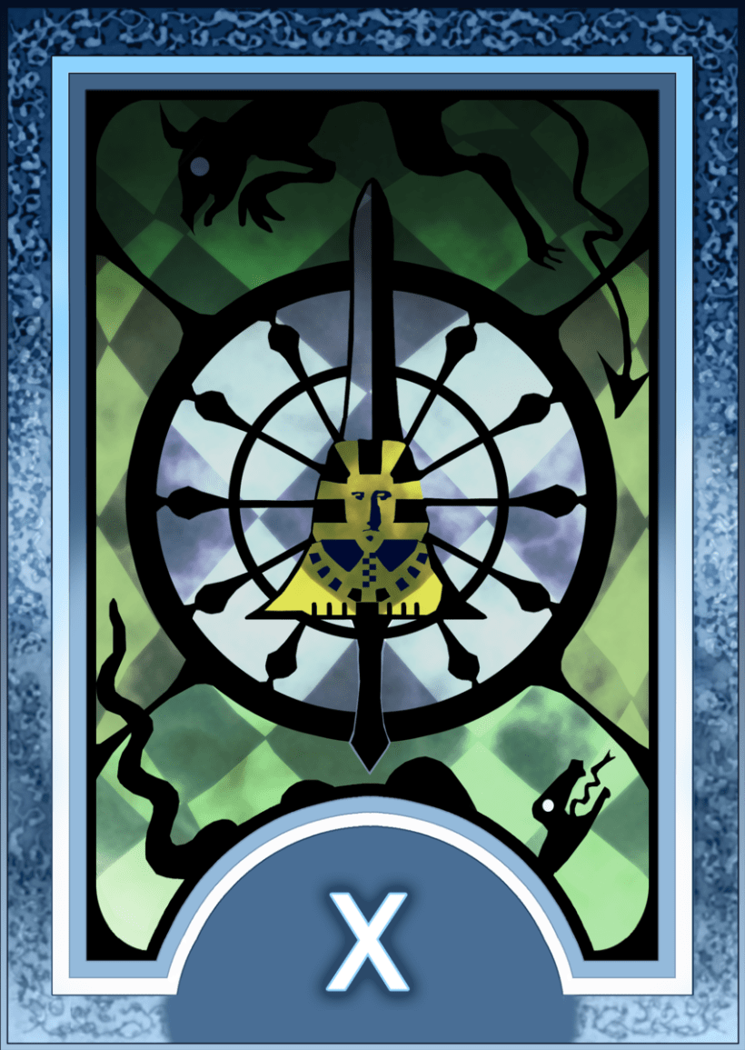 Major ARCANA Tarot 11