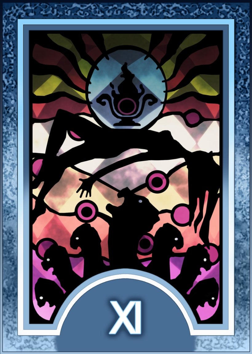 Major ARCANA Tarot 12