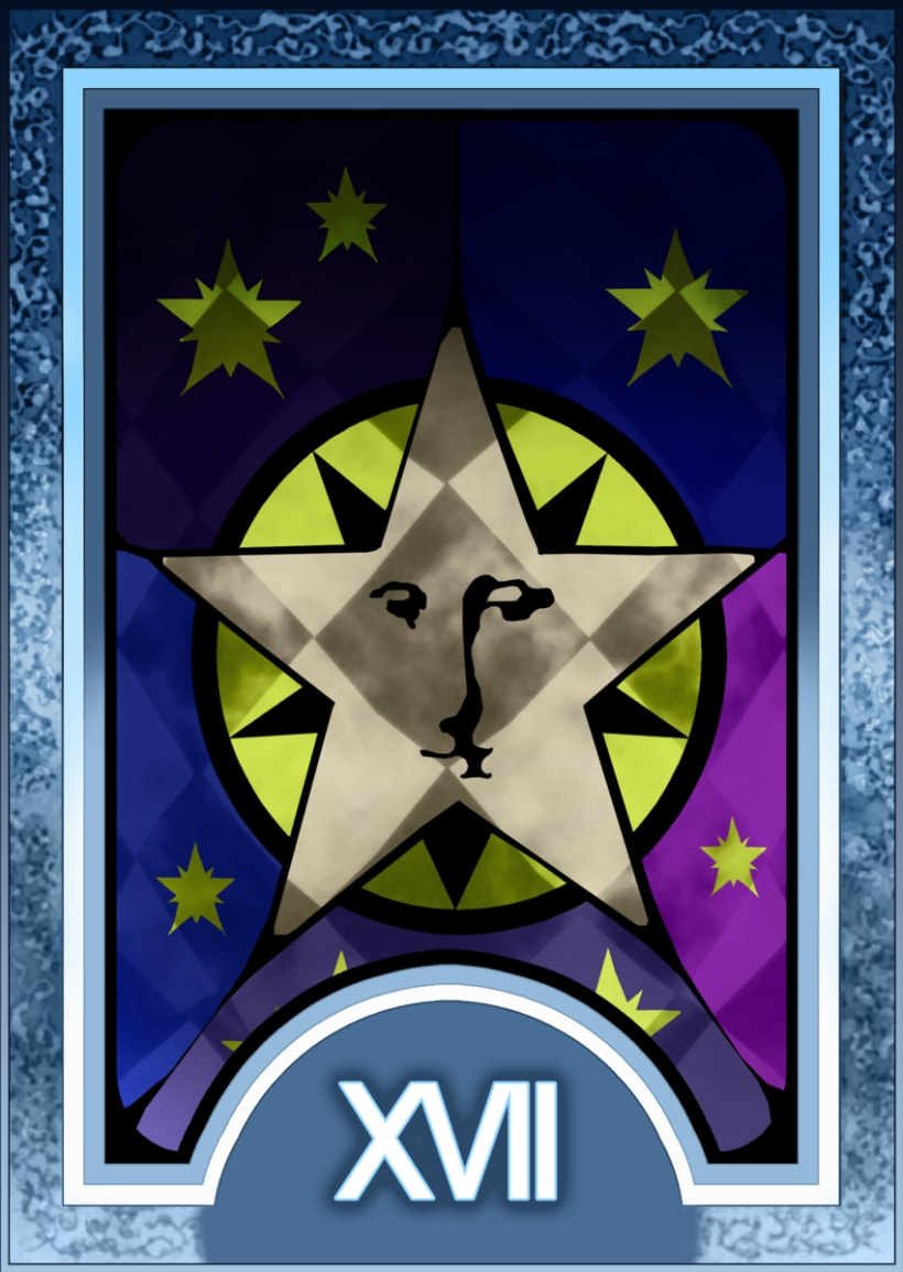Major ARCANA Tarot 18