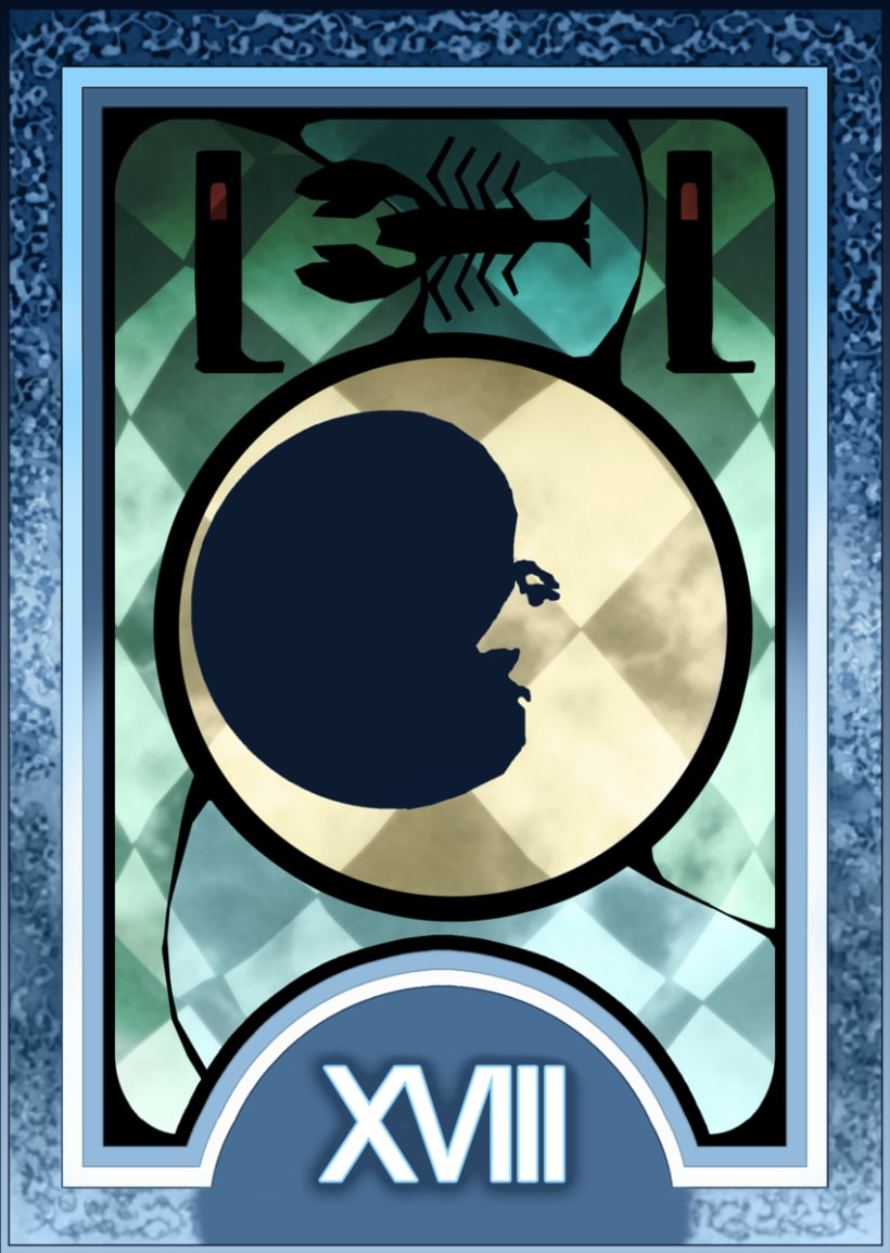 Major ARCANA Tarot 19