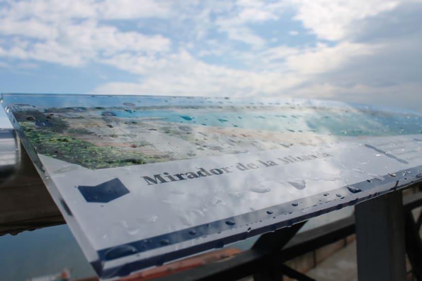 Señalética miradores Puerto de Mahón 4