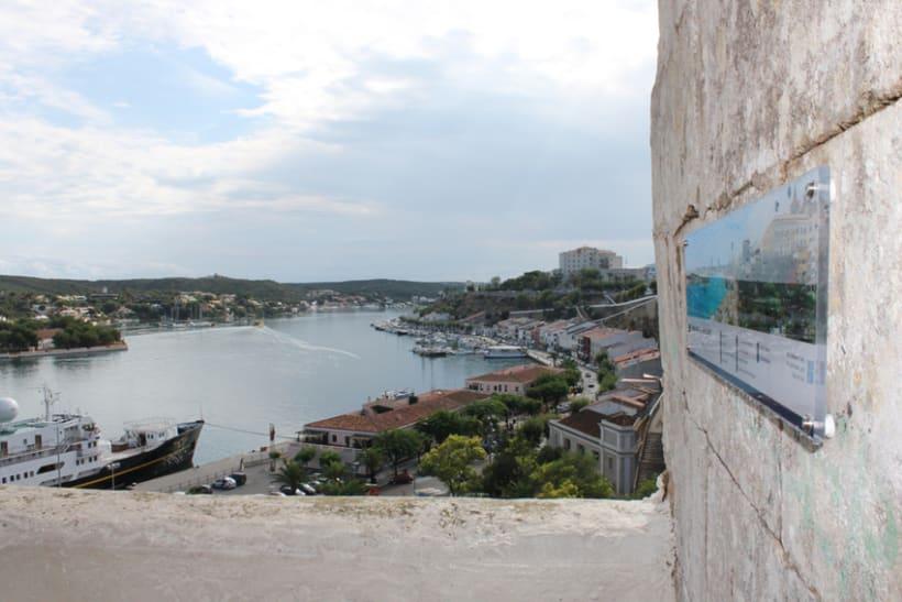 Señalética miradores Puerto de Mahón 6