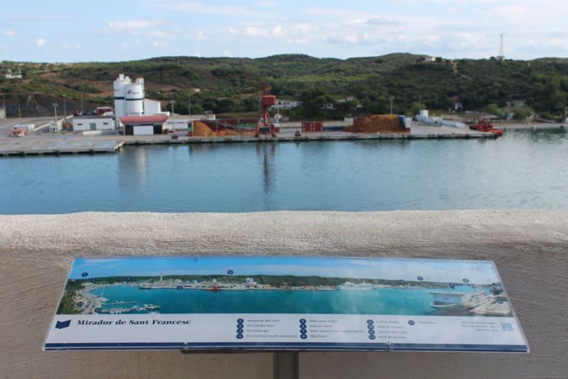 Señalética miradores Puerto de Mahón 9