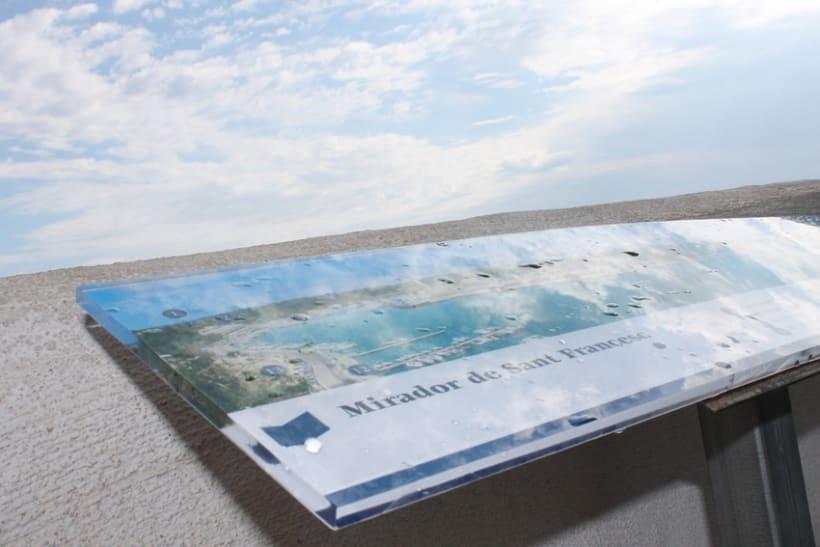 Señalética miradores Puerto de Mahón 10