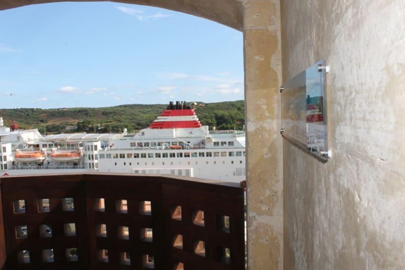Señalética miradores Puerto de Mahón 12