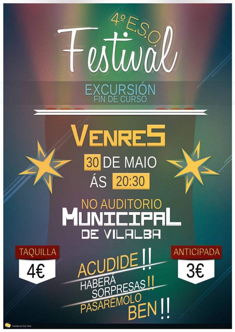 Cartel | Festival 4ºEso - 30/04/2014 1