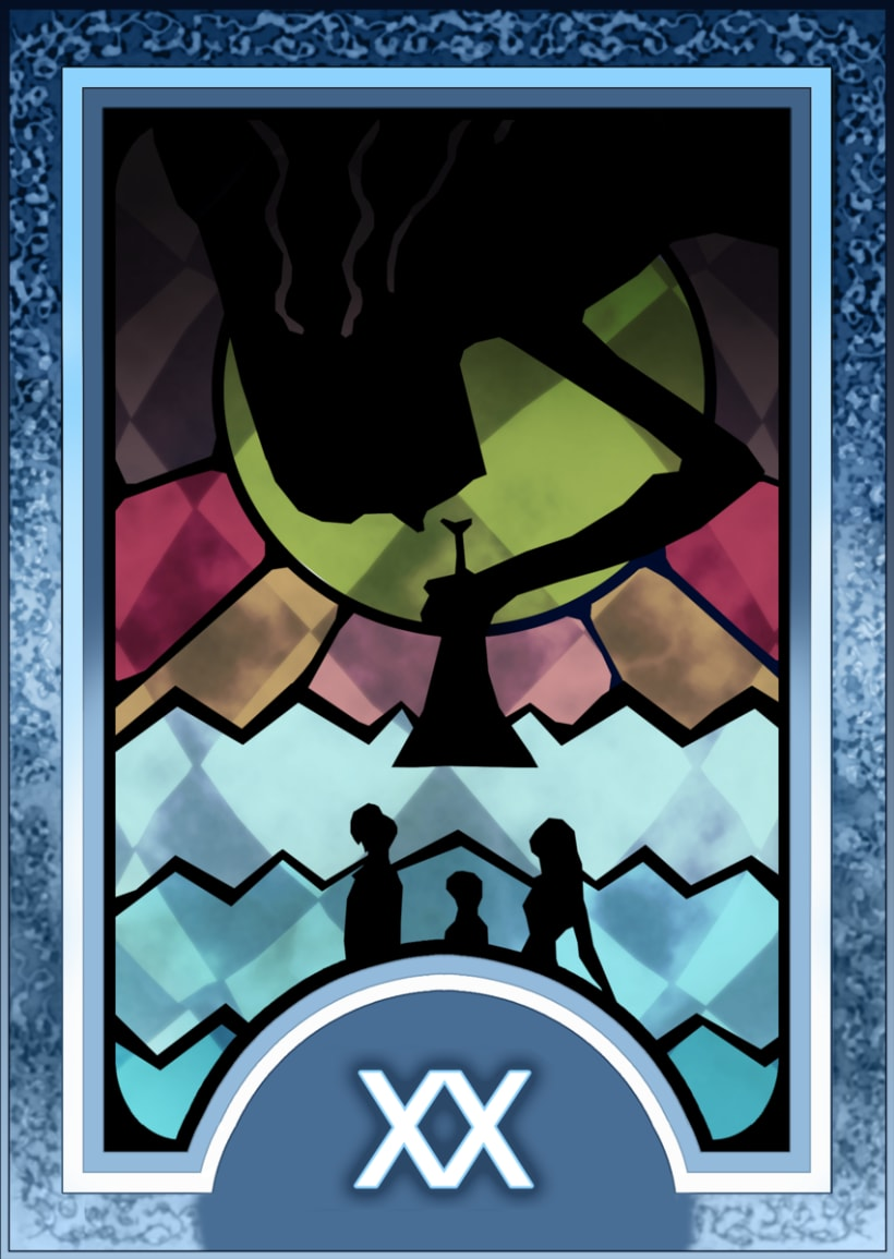 Major ARCANA Tarot 21