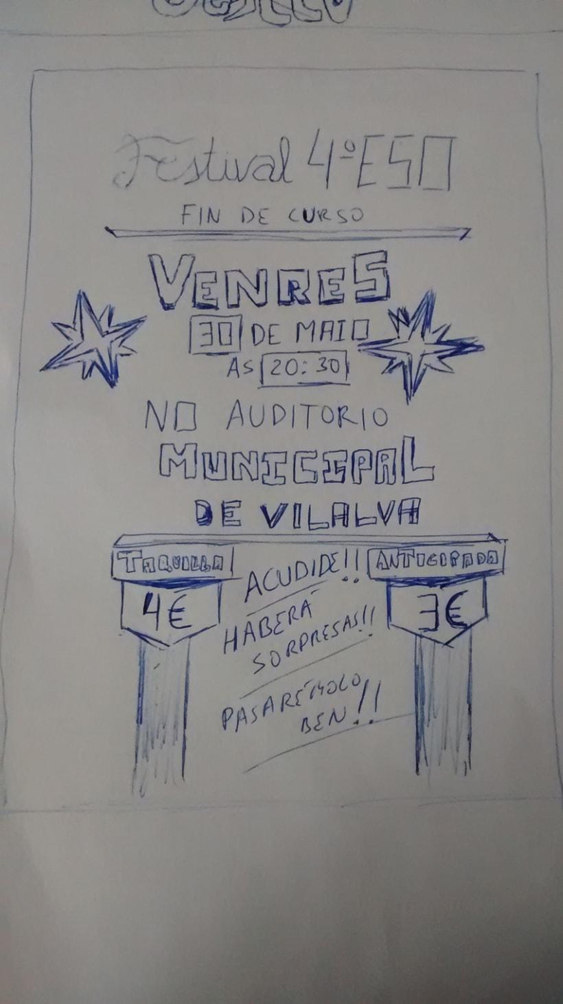 Cartel | Festival 4ºEso - 30/04/2014 2