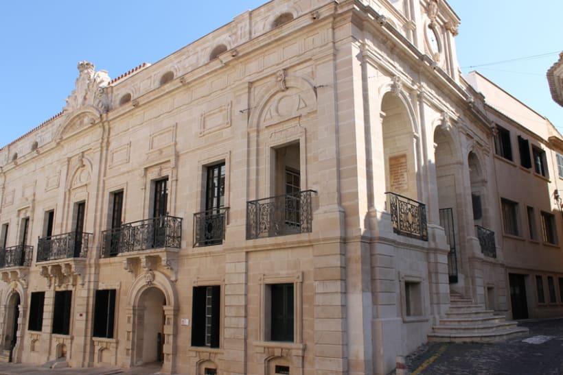 Señalética edificios emblemáticos de Mahón 4