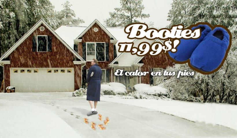 Booties -1