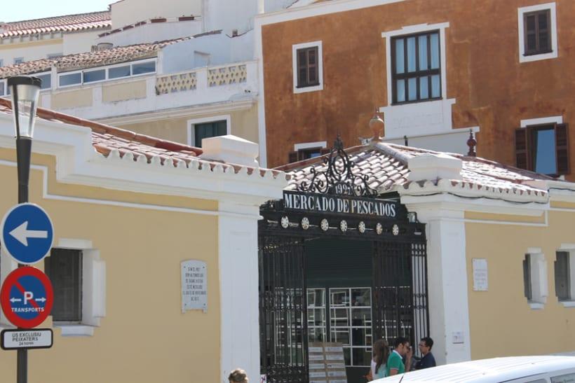 Señalética edificios emblemáticos de Mahón 16