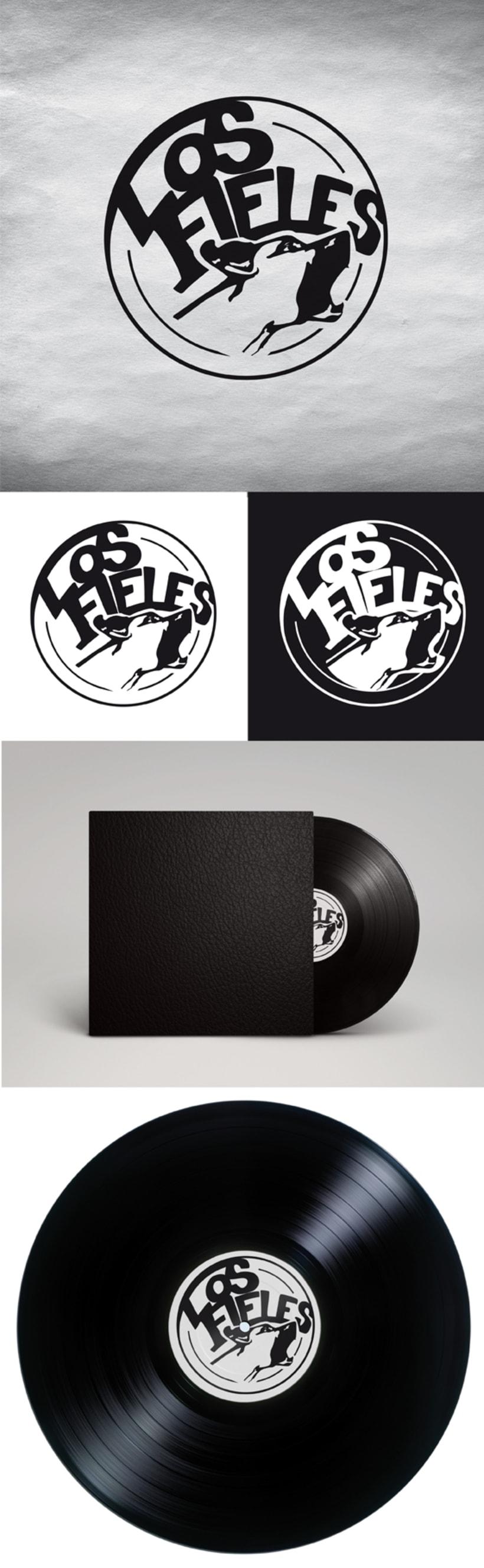 Los Fieles. Diseño de la imagen corporativa de la banda de Hardrock 3