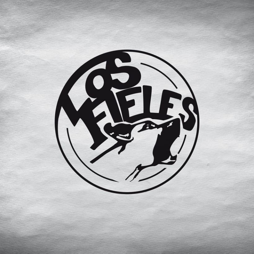 Los Fieles. Diseño de la imagen corporativa de la banda de Hardrock -1