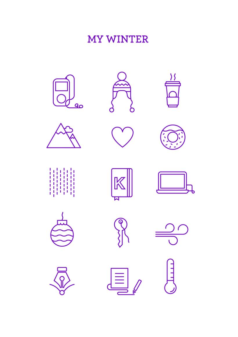 Winter icons 0