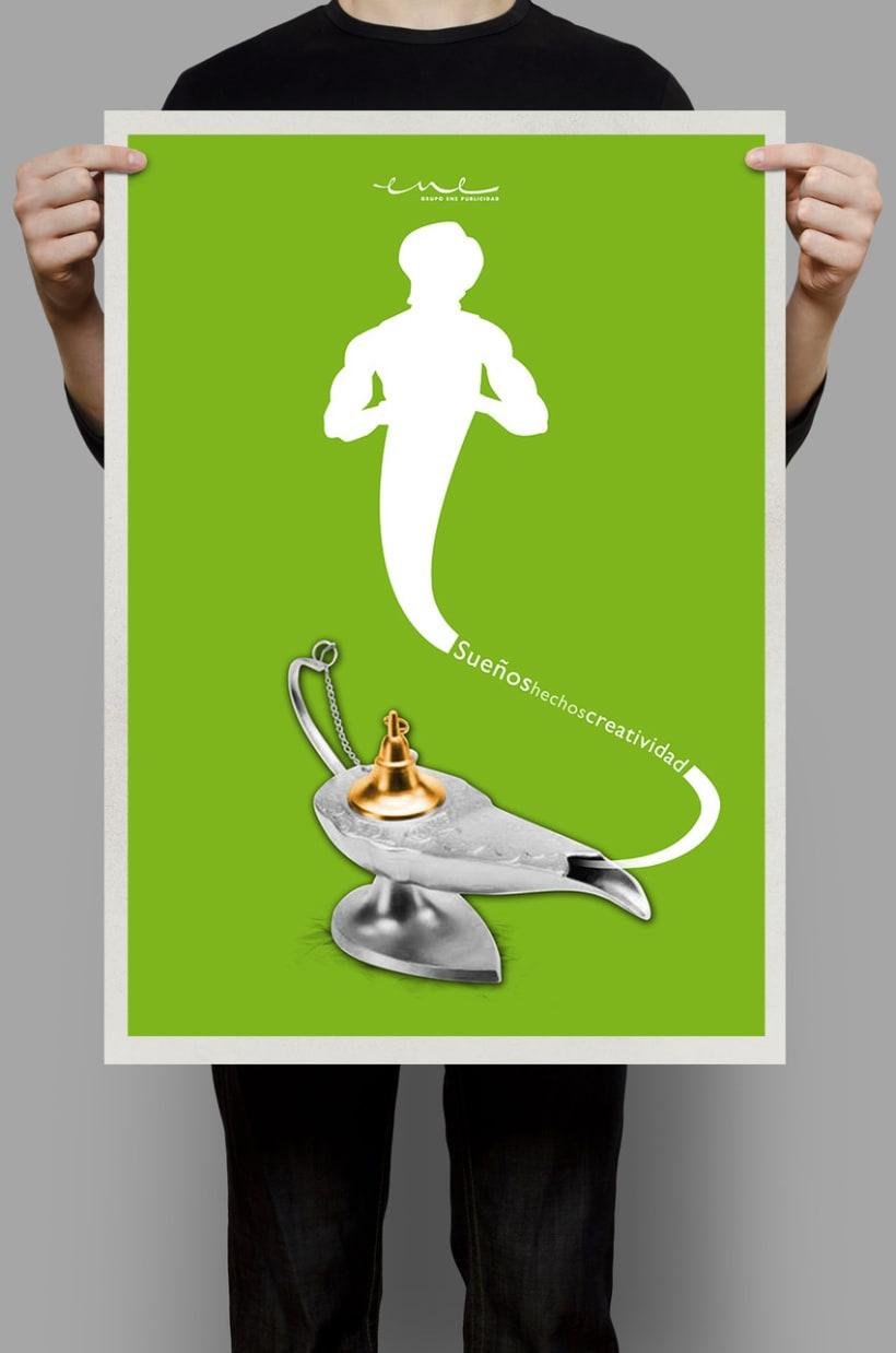 Sueños hechos creatividad (ENE Publicidad) Agencia Heathcare -1