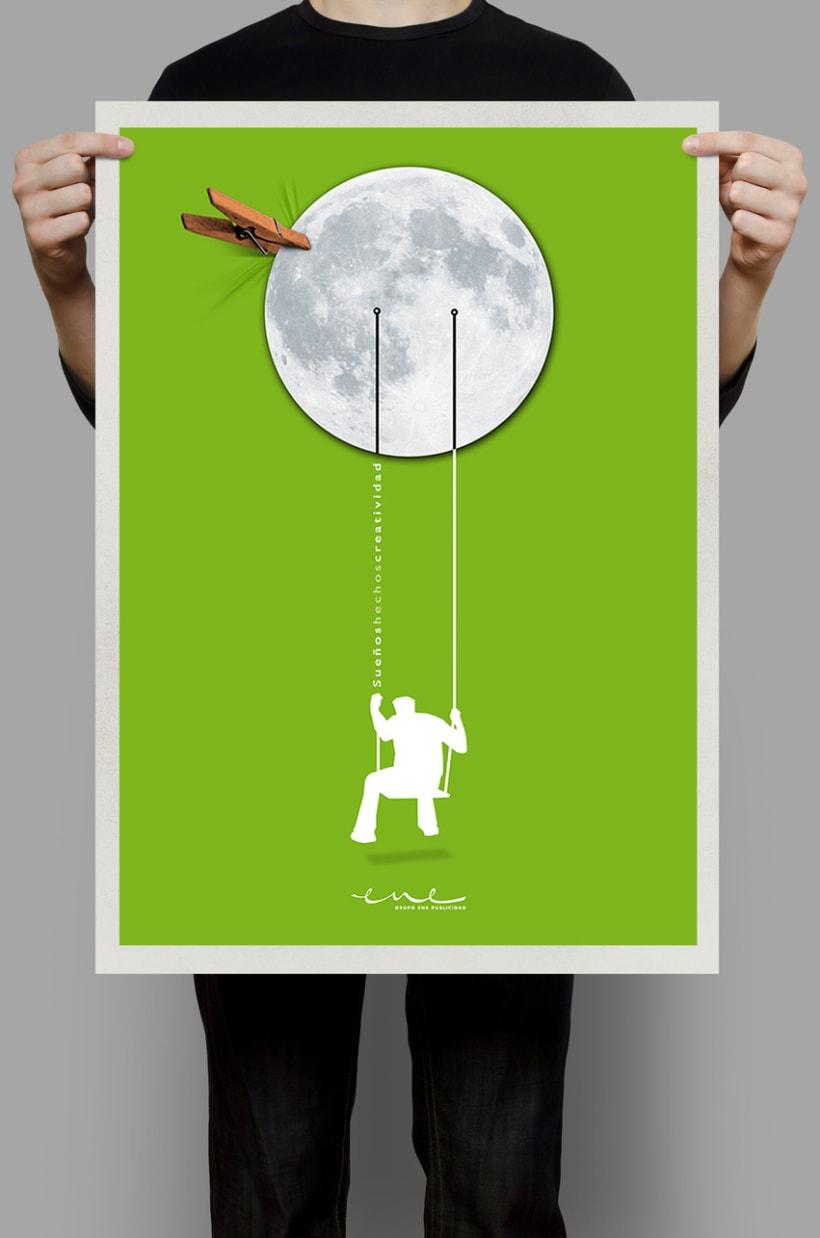 Sueños hechos creatividad (ENE Publicidad) Agencia Heathcare 0