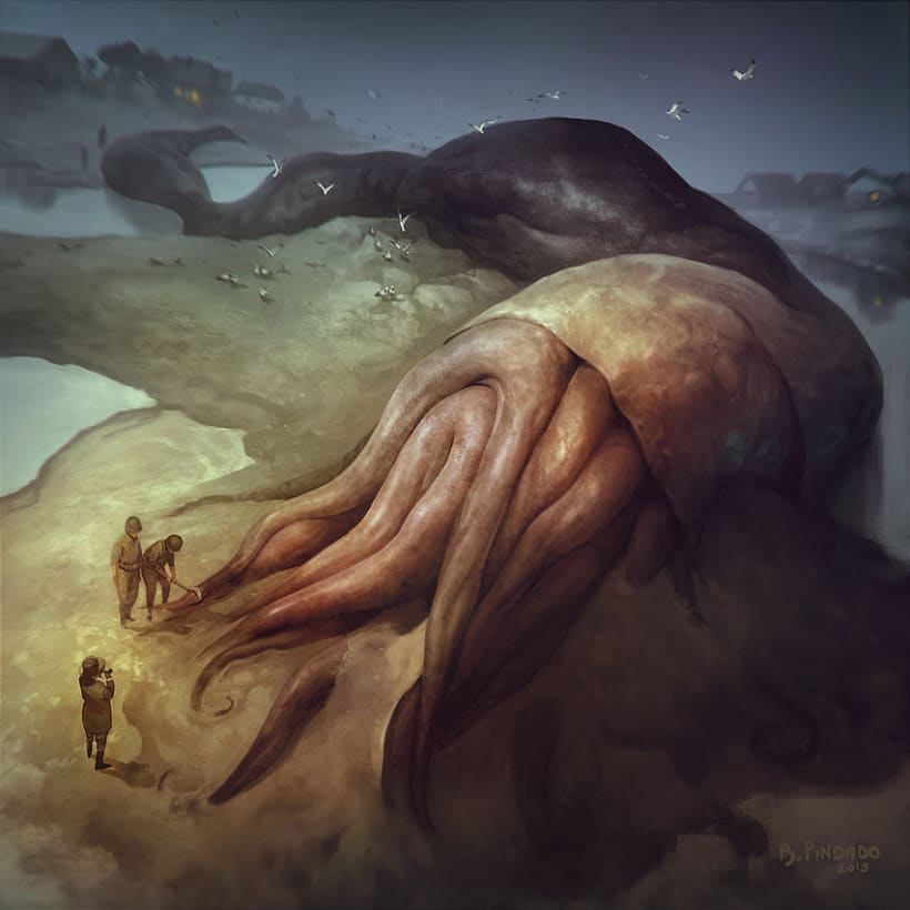Ilustraciones Lovecraft 2