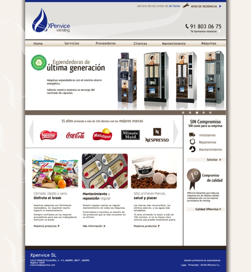 XPenvice vending 5