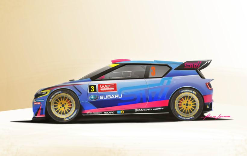 Subaru 360º WRC 1