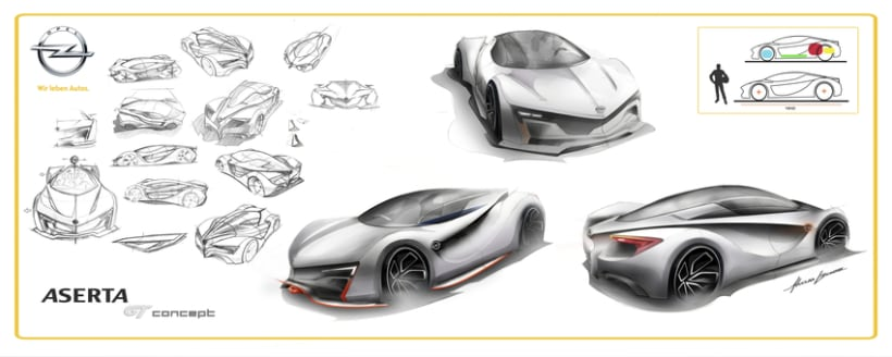 Opel Aserta GT Concept 1