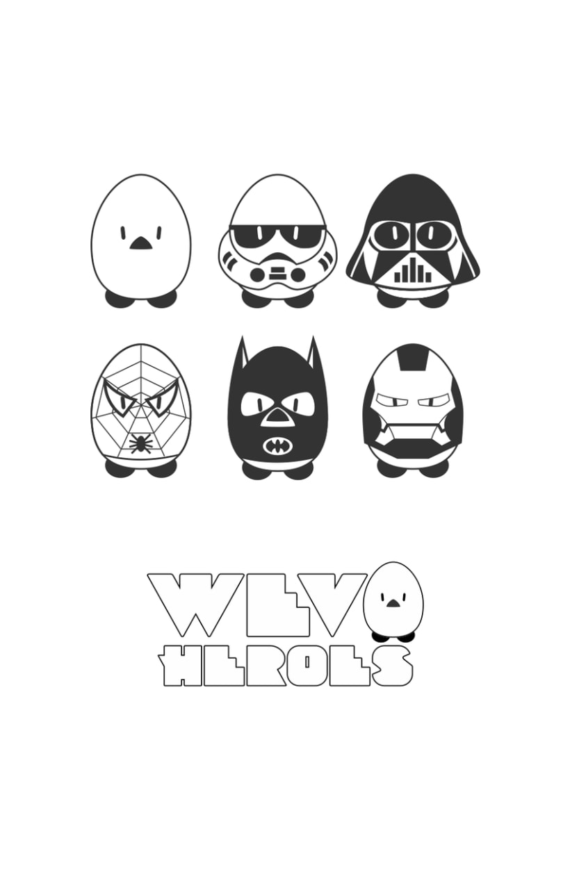 WevoHeroes | Personajes 0