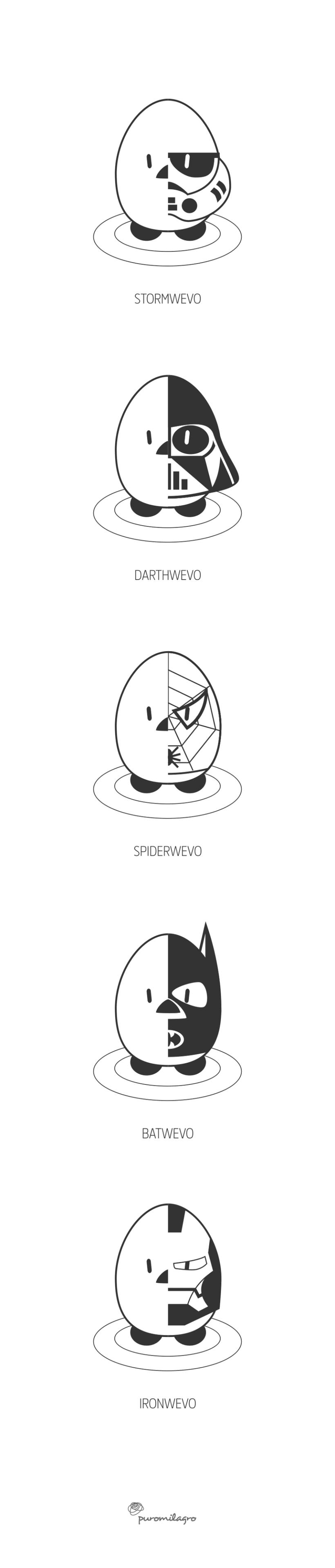 WevoHeroes | Personajes 1