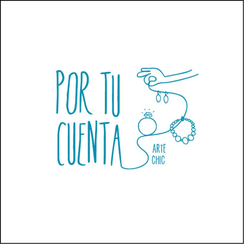 """branding/logotipo """"Por tu cuenta"""" -1"""