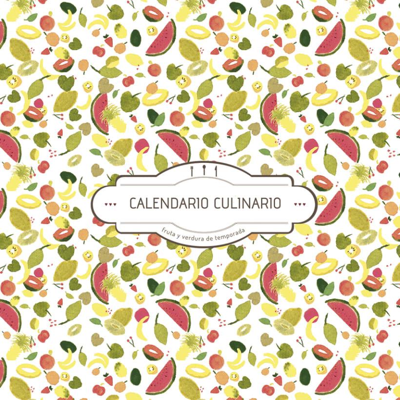 CALENDARIO CULINARIO, Fruta de Temporada 1