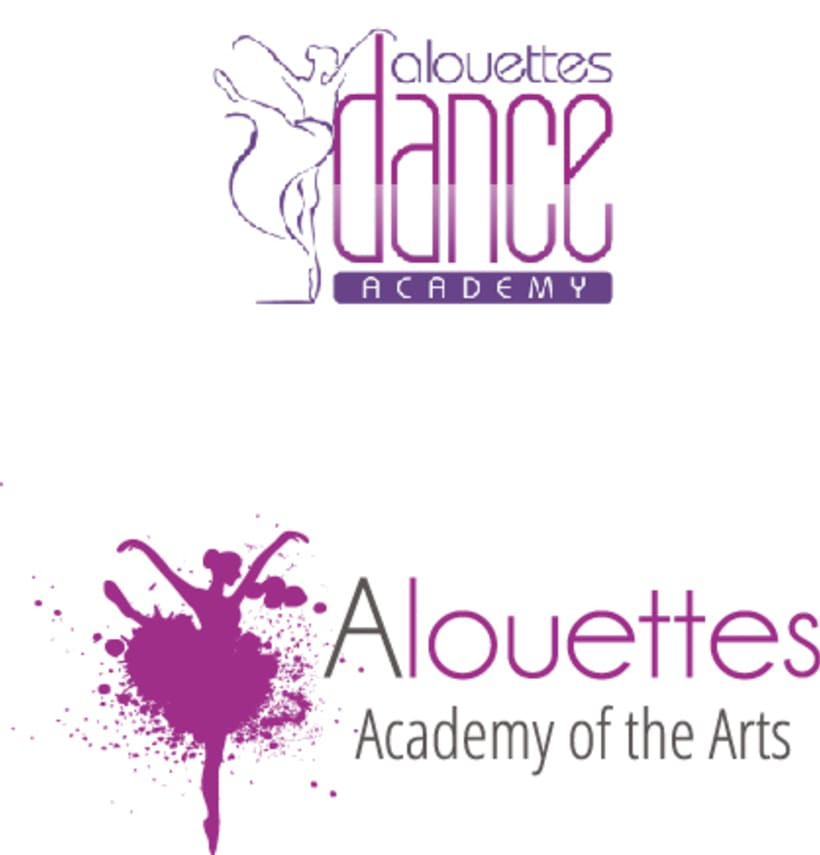 Logotipo para Alouettes Academy of the Arts 1