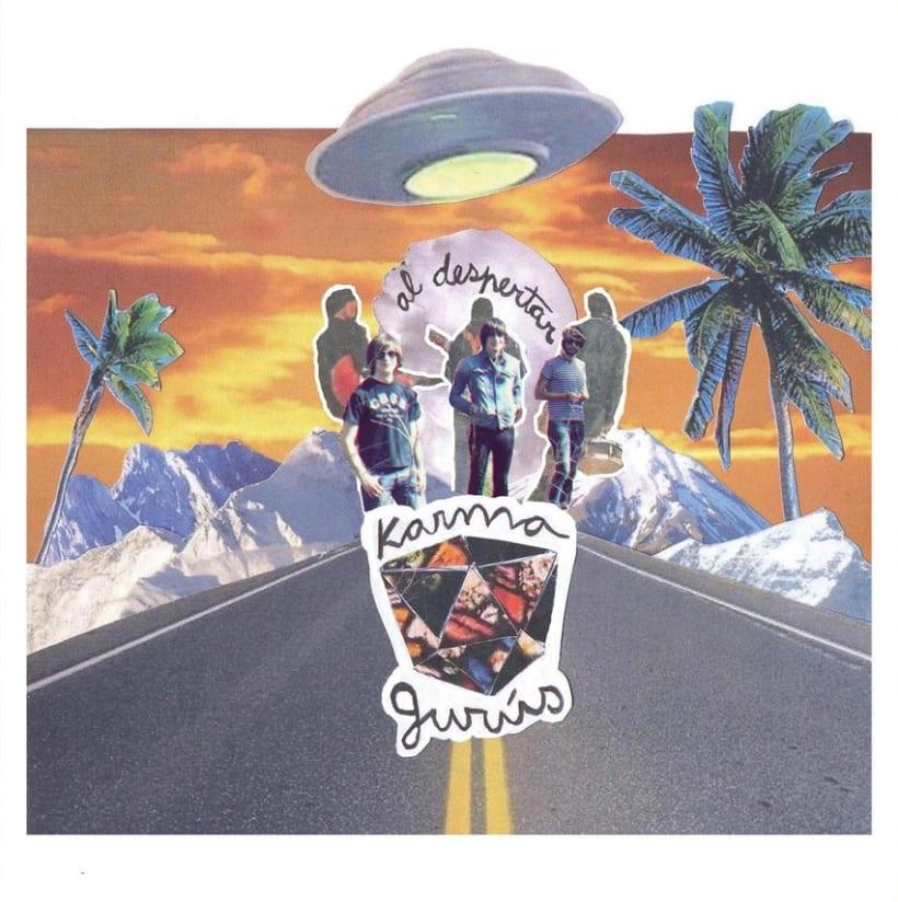 KARMA GURÚS 7'' cover (Al despertar) 0