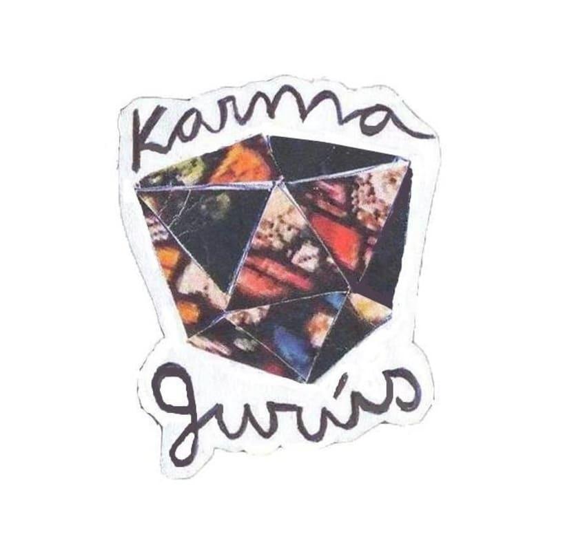 KARMA GURÚS 7'' cover (Al despertar) 1