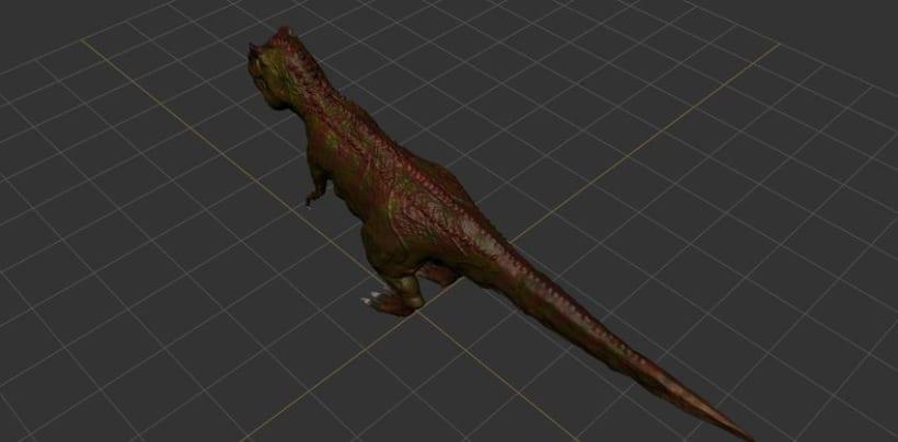 Modelado 3D Tiranosaurio Rex con Mudbox y 3Ds MAX 5