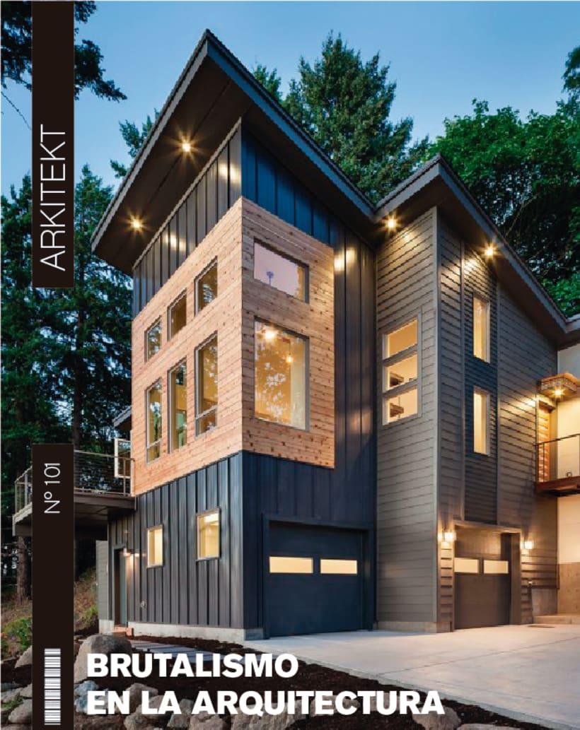 Propuesta Maquetación Revista de Arquitectura 0