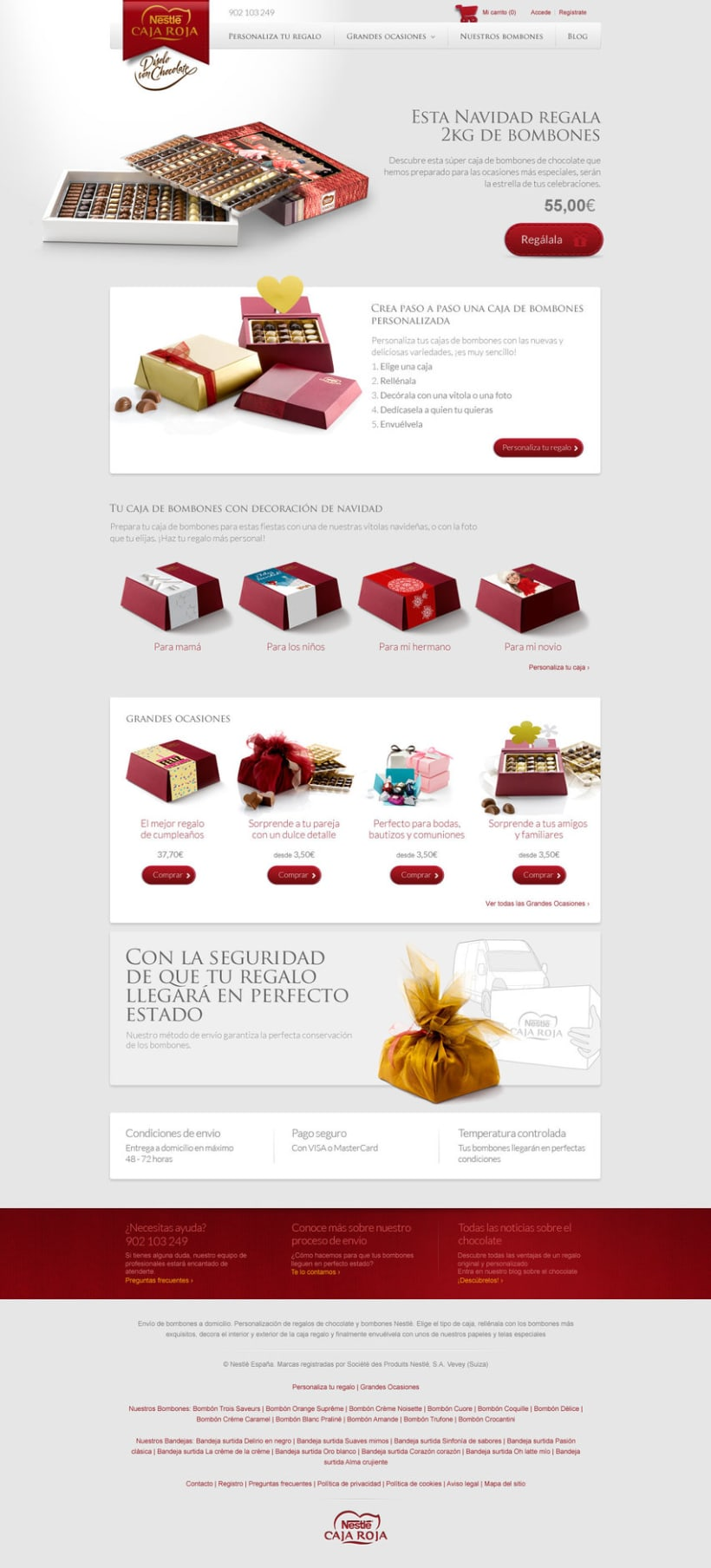 Landing pages - Nestlé -1