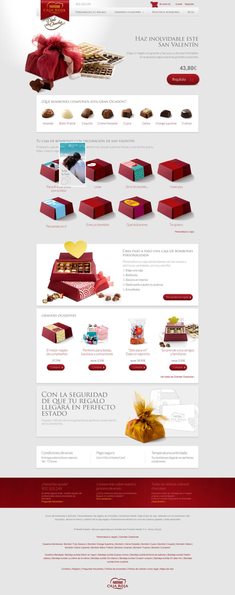 Landing pages - Nestlé 0