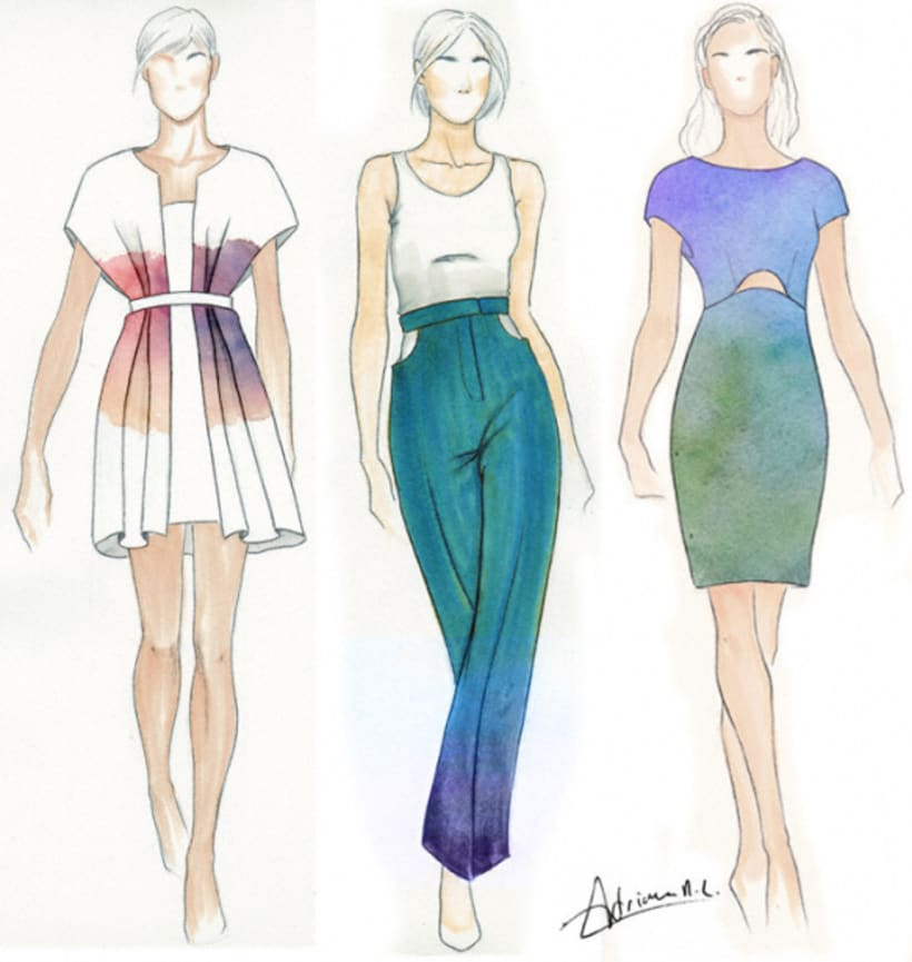 Sketches Moda Domestika