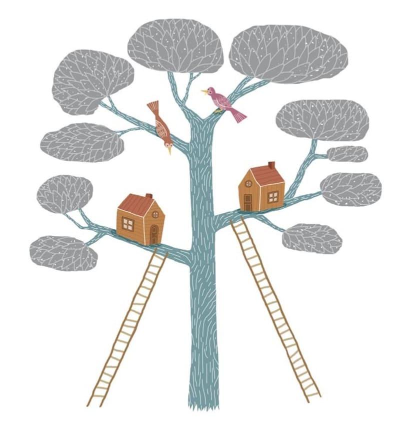 Pájaros y casas 0