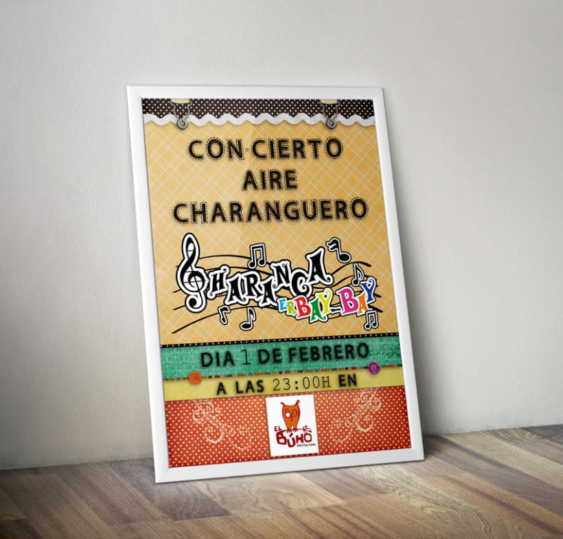 Cartel Charanga ErBay-Bay 0