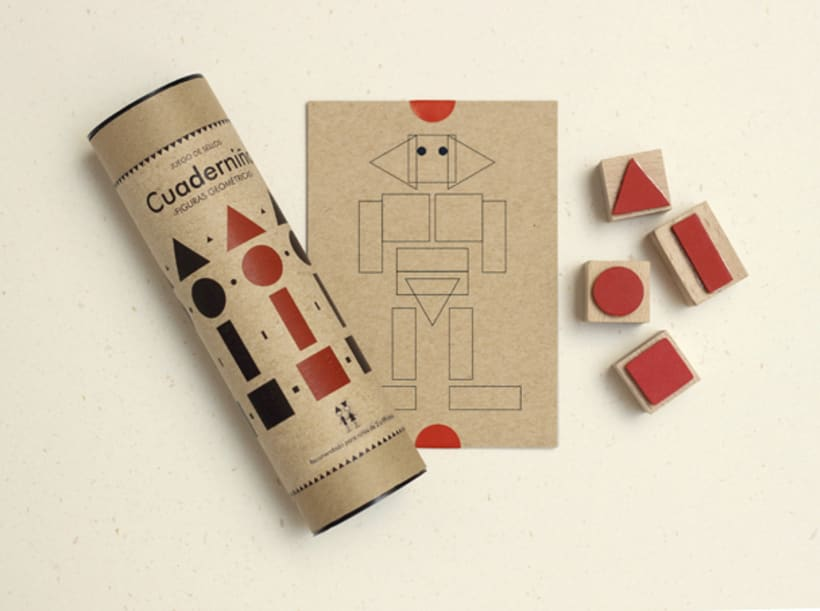 Geometric stamps set 2