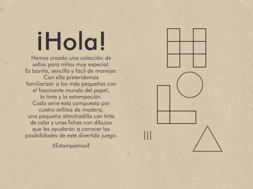 Geometric stamps set 4