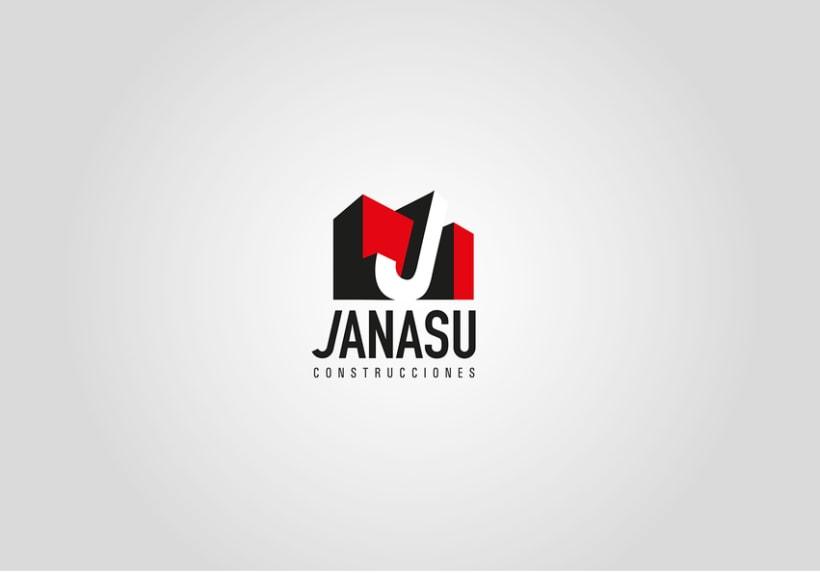 Identidad corporativa de Janasú construcciones 0