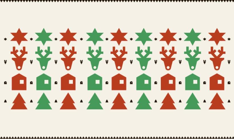 Christmas stamps set 0