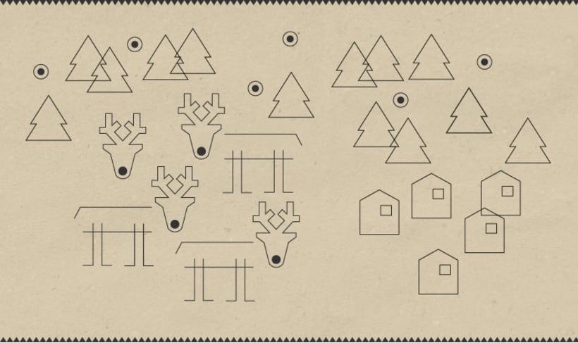 Christmas stamps set 3